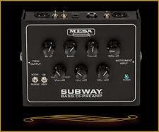 Mesa Boogie Subway Di Bass Preamp Pedal