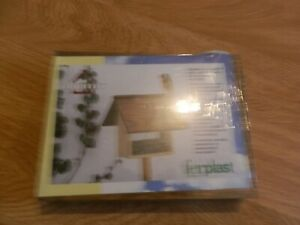 Habitat Ferplast Bird Feeder. Self Assembly. New.