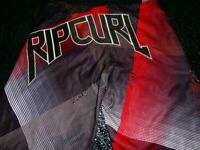 RIPCURL Boardshorts Board Shorts MENS 38 SURF BEACH SKATE PRISTINE RIP CURL