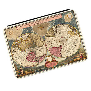 Vintage Old World Map #4 Kindle Paperwhite Touch PU Leather Flip Case Cover