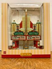 Lemax Victory Theater #55920 Essex Street Façade 2015 Free Shipping