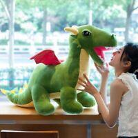 60-110cm Giant Simulation Dinosaur Plush Doll Cartoon Stuffed Animal Dino Toy