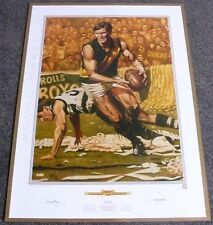ROYCE HART  JAMIE COOPER  RICHMOND TIGERS  HAND SIGNED LIMITED EDITION