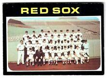 1971 Topps BOSTON RED SOX  Team Card #386  (vg-ex)