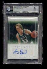 Larry Bird 2013-14 National Treasures NBA GREATS Auto #1/49! 1/1? BGS 9! Celtics