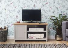 Lancaster Grey/Cream & Oak Coloured Occasional Range - Tables Sideboard TV Units