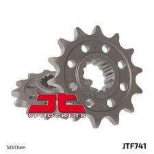 piñón delantero JTF741.15 Ducati 1198 Diavel Cromo 2012-2014