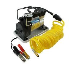 Air Compressor 12v Inflator 150psi 35ltr P/Min P/Gauge & 5m Coil Hose Tough 4WD