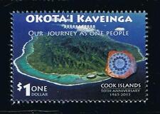 Cook Islands 2015 50th Anniversary of Self-Government Postage Stamp