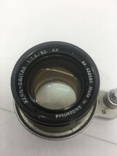 Kern Switar 50mm f/1.8 Lens for ALPA W/Hood