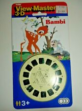 * SEALED * TYCO BAMBI 1989 VIEWMASTER REELS SET 3060 RARE MINT F379