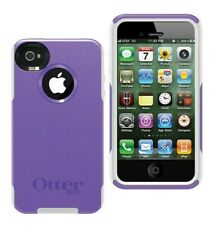 Otterbox Military Grade Cover iPhone 4S Commuter Case Dual Layer Purple/White