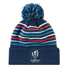 Canterbury Rugby World Cup Japan 2019 Acrylic Rugby Bobble Beanie Hat Navy Blue