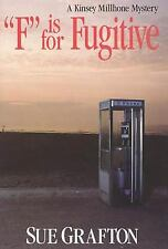 F Is for Fugitive  (NoDust) by Sue Grafton