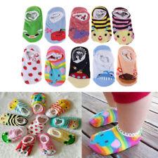 Baby Kids Cotton Cartoon Socks Newborn Infant Toddler Kids Soft Anti-slip Sock ^