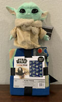 "BABY YODA Star Wars THE CHILD 8"" Plush Mattel THE MANDALORIAN W/ PLUSH Blanket"