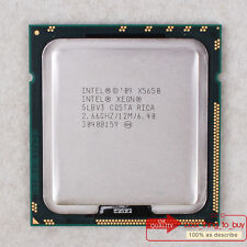 Intel Xeon X5650 CPU (AT80614004320AD) LGA 1366 SLBV3 2.66/12M/6.4GT/s Free ship