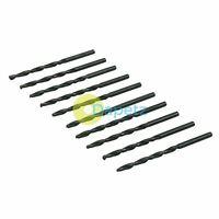 HSS Metric Jobber Drill Bits Box Of 10 (Pack) 3.0mm Metal Steel Wood Plastic