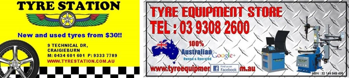 Tyre Station | Tyre Equipment Store
