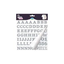 Sticker Textile Alphabet Crayonné Glitter - ALADINE - NEUF