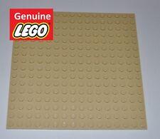 GENUINE LEGO PARTS 16X16 STUDS TAN BUILDING PLATE/MAT/BASE BOARD/BASEPLATE/BEIGE