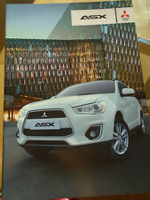 Mitsubishi ASX range brochure Nov 2013