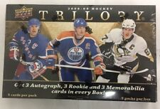 2008-09 Upper Deck Trilogy Factory Sealed Hockey Hobby Box