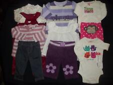 Baby Girls Newborn 0-3M Fall Winter Clothes Outfit Lot NB 0/3 Months FREE SHIP