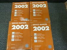 2002 Cadillac Escalade & EXT Luxury SUV Shop Service Repair Manual Set 5.3L 6.0L