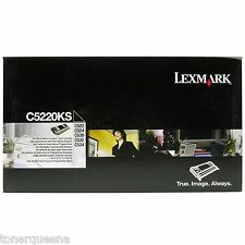 New ! GENUINE Lexmark  C522 c524 C530 C532 C534 Black Toner C5220KS C522-0KS