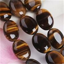 Nature African roar 12x16mm TIGER's EYE OVAL LOOSE BEADS 15inch AAA