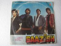 Saazish KALYANJI ANANDJI Bollywood LP Record India-1601
