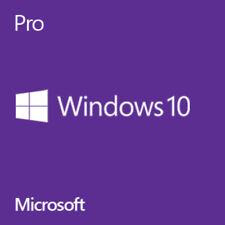 Microsoft Windows 10 Professional COA Key Silver sratch plus DVD 64 Bit Win 10