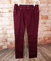 The Limited Denim 678 Maroon Skinny Jeans Size 4