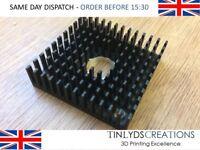 Cooling Fin Heatsink 40 X 40 X 10mm - MK8 / MK10 Extruder 3D Printer Part