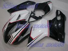 FAIRING Set For Ducati 2007-2011 848 1098 1198 R/S Injection Race Plastic Kit 18