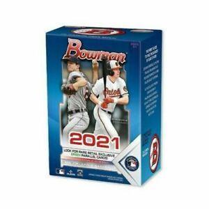 2021 Topps MLB Bowman Baseball Trading Card Blaster Box
