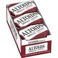 Altoids Smalls Cinnamon Sugarfree Mints 0.37 ounce (9 Packs)
