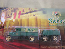 Advertising TRUCK LORRY Riebeck since 1861 Bow Riding Tail TRUCK MODEL NEW & OVP Top