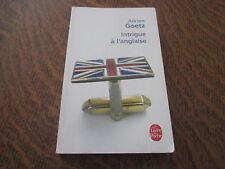 le livre de poche intrigue a l'anglaise - ADRIEN GOETZ