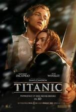 TITANIC ORIGINAL 27x40 MOVIE POSTER (1997) DICAPRIO & WINSLET