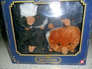 4 Pack Baby Nifflers -  Harry Potter  - The Crimes of Grindelwald