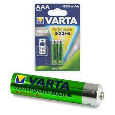 2x Varta Phone Power Akku Micro AAA 1,2 V 800 mAh T398 Telefon NEU 2 Stück