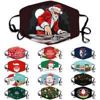 Unisex Weihnachts gesichtsmaske Outdoor Riding Waschbare Schnelltrocknende Maske