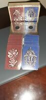 2 DECKS OF VINTAGE CONGRESS PLAYING CARDS WITH CEL-U-TONE FINISH