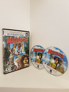 """Madagascar """"Playstation 2 Experience version"""", PS2, Untested"""