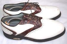 FootJoy Classic Tour Blanc/Marron Selle Taille UK10.5D Chaussures de golf