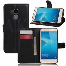 PU Leather Book Wallet Stand Case Cover For Huawei Honor 5C Honor 7 lite GT3