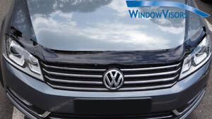 Premium Quality Bonnet Protector Tinted for Volkswagen Passat B7 2011-2015
