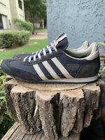 ADIDAS Dragon Shoes Navy blue and White Size 10 Men's